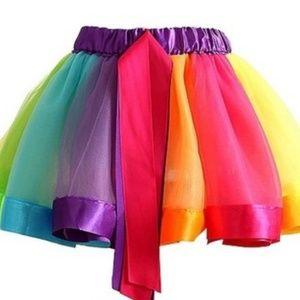 Little Girls Layered Tulle TuTu Skirt Size 1-3 yrs